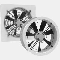 Axial fans ; Type: ER/DR and EQ/DQ
